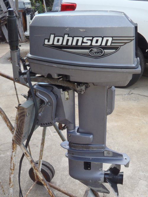 25 Hp Johnson outboard motor Water pump Ted Williams 7 5 hp